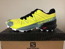 Salomon Speedcross 5 Men's Shoes Yellow Black White Size UK 10