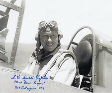 Stanley Vejtasa (3) Navy Cross WWII DOUBLE ACE 11, 2nd highest medal SIGNED 8x10
