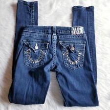 True Religion Jeans Women size 29 Skinny Low Rise Flap Pockets