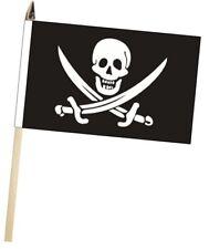 Crâne de Pirate 'Calicot' Jack Rackham Grand Main Agitant Courtoisie Drapeau
