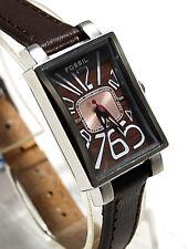 Fossil Damen Uhr JR9493 mit Leder Armband FO71.