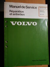 Volvo 240 1989 : schémas électriques