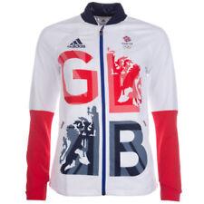 Équipements blancs adidas pour cycliste