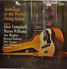 """ANTHOLOGY OF THE TWELVE STRING GUITAR - BELLAPHON BJS 4046 12"""" LP (X 147)"""