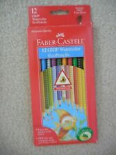 Faber-Castell 12 GRIP Watercolor EcoPencils Triangular NEW