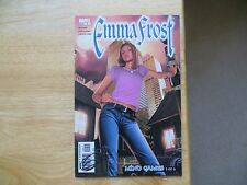 2004 VINTAGE MARVEL COMICS EMMA FROST # 9 SIGNED BY GREG HORN, WITH POA