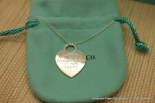 Tiffany & Co. / Heart Pendant and Necklace / 925 Silver