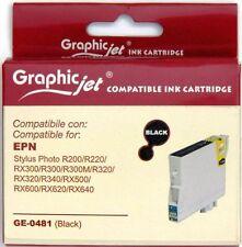 Cartuccia Compatibile Epson STYLUS OFFICE R200 T481 colore NERO nuovo