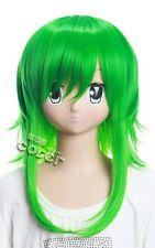W-93 vocaloid Gumi Megpoid vert green 40cm cosplay perruque wig Hitzefest