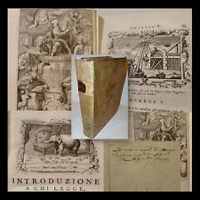 EMBLEMATA - Nunez De Cepeda: Idea del Buon Pastore - 1741 Venezia Emblemi FILOSI