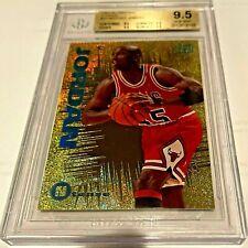 1994-95 Emotion N-Tense Michael Jordan Gold Foil #N3 BGS 9.5 QUAD 9.5s GEM MINT
