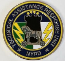 NYPD New York City PD TARU Technical Assistance Response Unit Challenge Coin