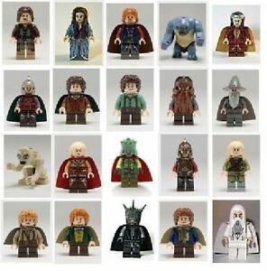 Lord Of The Rings The Hobbit Action Mini Figures Models Gandalf Frodo Legolas