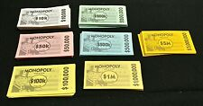 MONOPOLY 2006 HERE & NOW EDITION GAME play money replacement parts 00402