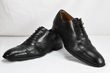 1322ed98c62 YVES SAINT LAURENT Leather Mens Dress Shoes Cap Toe Brogue Oxf Sz EU 40.5  US 7.5