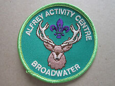 Alfrey Activity Centre Broadwater Cloth Patch Badge Boy Scouts Scouting (L2K)