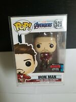 Funko Pop! Avengers Endgame Iron Man 529 2019 Fall Convention Excl. w/Protector!