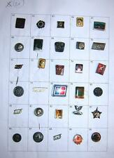 LOT of 30 pin badges - Ex Yugoslavia, Tito, Partizans etc. #21