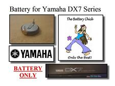 Battery for Yamaha DX7, 7II & 7IIFD Synths - Internal Memory Replacement Battery