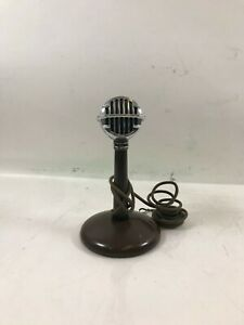 Vintage Astatic Microphone #30 W/ Stand