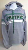 Woman VICTORIA'S SECRET PINK SPARTANS Hoodie Grey L/S Green Junior Size S