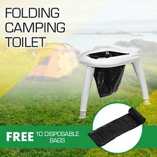 OUTBOXCAMPING Portable Foldable Camping Toilet