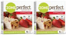 Zone Perfect Nutrition Bars Strawberry Yogurt 2 Box Pack