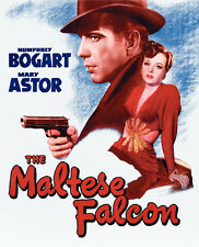 The Maltese Falcon Movie Promo Poster G Humphrey Bogart Mary Astor Peter Lorre