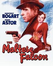 THE MALTESE FALCON Movie Promo POSTER G Humphrey Bogart Mary Astor Peter Lorre