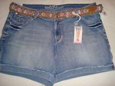 Women Wallflower Cuffed Hems, Belted Bermuda/Shorts Size  20 NWT