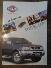 NISSAN Pick-up gamma 1998 francese MKT OPUSCOLO DEPLIANT-Navara King Cab 4x4 4x2