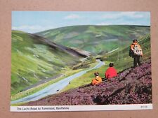 Vintage 1985 Lecht Road to Tomintoul Real Photo Postcard