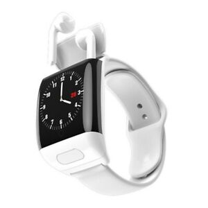 Smart Watch Men Bluetooth Headphone Heart Rate Blood Pressure for Android IOS