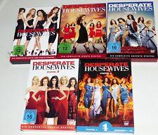 5x DVD Desperate Housewives Staffel 5 bis 8 komplett plus Staffel 4 Teil 1