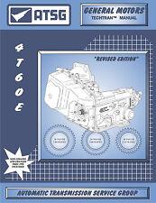 ATSG Tech Manual 4T60E 4T60-E 1991-On Electronic GM Chevy Cadillac Repair Book