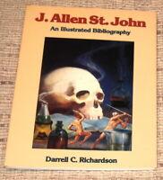 J ALLEN ST JOHN AN ILLUSTRATED BIBLIOGRAPHY BY D C RICHARDSON 1991 1ST LTD ED