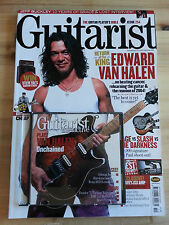 Guitarist Magazine Issue 254 September 2004 Rare O.O.P (Van Halen Lesson)with CD