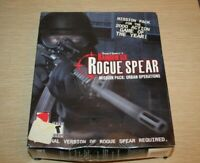 BRAND NEW- Tom Clancy's RAINBOW SIX ROGUE SPEAR MISSION PACK URBAN OPERATIONS