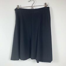 Theory Diara Comments black skirt size 8 wool silk