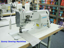 Consew P2339Rb Fully Assembled Double Needle Walking Foot Sewing Machine - 3/8""