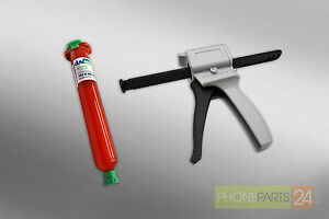 Loca UV TP1000 Kleber + Pistole Spritze Dosier Kartuschenpistole 50 ml