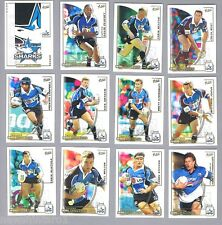 TEN SETS OF 2002  CRONULLA SHARKS  SELECT NRL CHALLENGE RUGBY LEAGUE CARDS