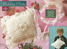 *Ring Bearer's Pillow & Brides Headband crochet PATTERN INSTRUCTIONS