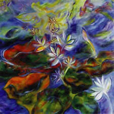 LILY PAINTING  FINE ART PRINT GOOD FENG SHUI