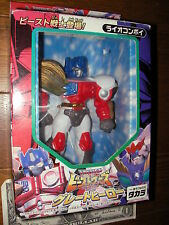 Takara vinyl figure TRANSFORMERS LION CONVOY ROBOT beast wars optimus prime