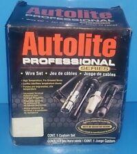 Autolite Spark Plug Ignition Wire FITS Mitsubishi 2000gtX Galant Hyundai Sonata