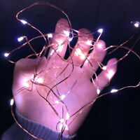 2M Battery Operated 20 LED string fairy light copper wire Halloween xmas