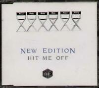 NEW EDITION Hit Me Off CD Single