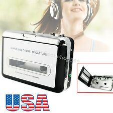 Fast Ship USB Cassette Tape to MP3 iPod CD Converter Capture Audio Music Player