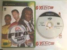 FIFA Football 2003 > Xbox > En Boite > PAL FR